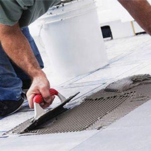 Tile adhesives & waterproofing