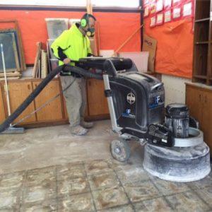 Concrete grinding & polishing